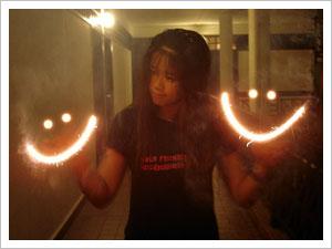 Smiling Sparklers