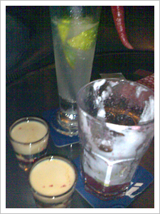 Our drinks'